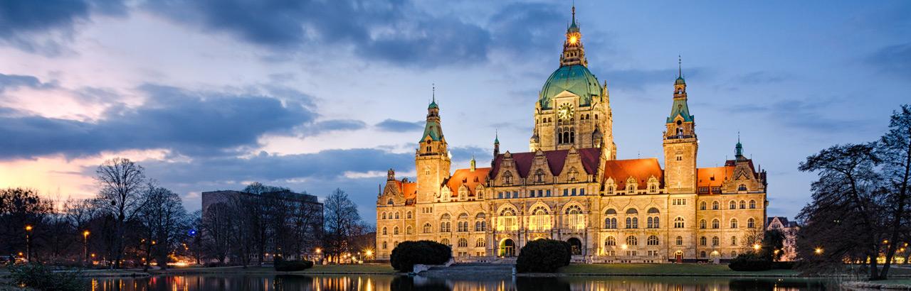 Rathaus in Hannover - Anwalt Preidel Hannover, Rechtsanwalt bei Kündigung, Arbeitsvertrag Abmahnung etc.